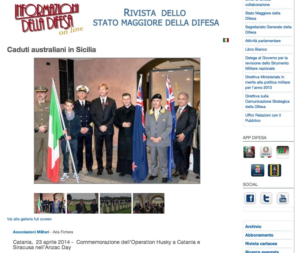 Giornale Stato Maggiore Difesa Roma